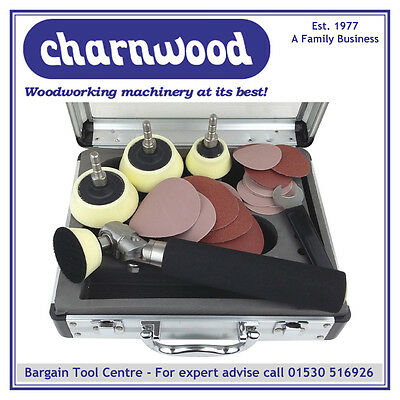 Charnwood BS10PDeluxe Bowl and Spindle Sander Package
