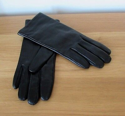 M&s Buttery Soft Ladies Leather Gloves*brand New*