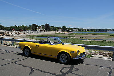 "1970 Fiat Other  1970 FIAT 124 SPIDER ""FULLY RESTORED, THE BEST ON THE MARKET, GORGEOUS CAR!!!"""