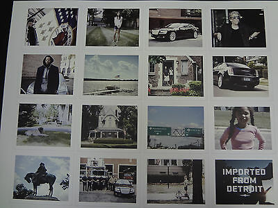 Official Chrysler Imported From Detroit Snapshots of Detroit Poster