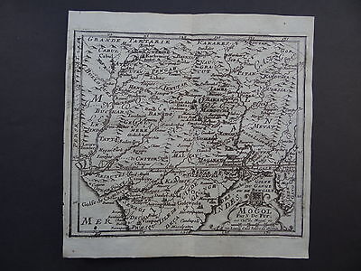 1689 DE FER atlas map  MOGOL EMPIRE - INDIA  - Nicolas De Fer