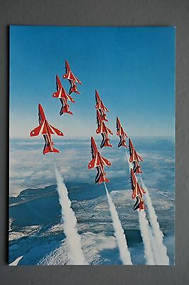 R&L Postcard: The Red Arrows, RAF, ETW Dennis