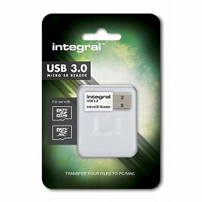 Fast PC or MAC USb 3.0 Card Reader for microSDXC and microSDXC Memory Cards
