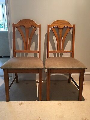 Jentique Bedroom/Dining Chairs x 2