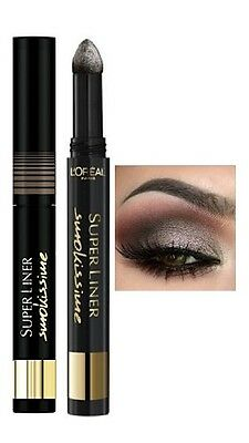 2 x L'Oreal Smokissime Superliner Eyeliner 101 Taupe Smoke New
