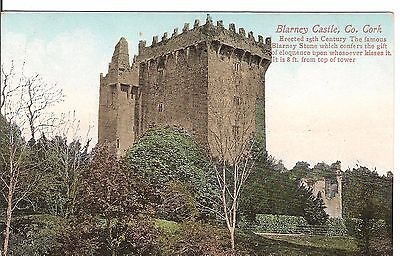 Blarny Castle Co. Cork early postcard