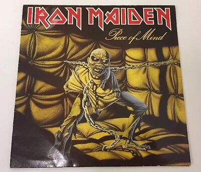 Iron Maiden Piece Of Mind LP 12 Inch Vinyl