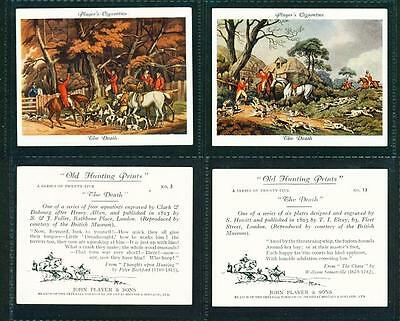 2 x OLD HUNTING PRINTS (LARGE) – PLAYERS – 1938