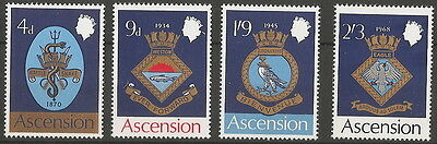 1969  Navy  Badges  Set Of 4  Sg 121/4   Unmounted Mint