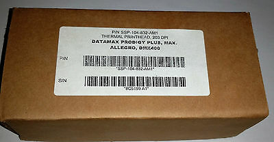 NEW - Thermal printhead Datamax Prodigy Plus Max Allegro DMX400 SSP-104-832-AM1