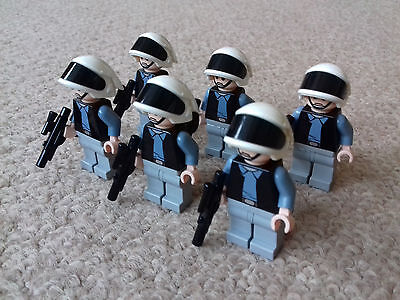 Lego Minifigure Star Wars 6 Rebel Scout Troopers SW187 7668 10198 Tantive IV