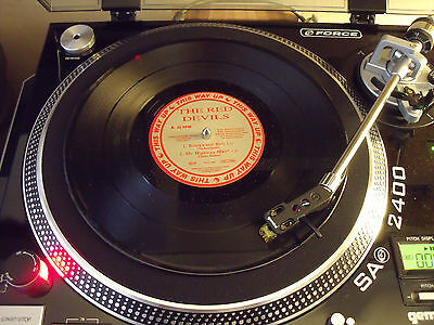 """Vinyl: RARE 10"""" EP THE RED DEVILS BLACKWATER ROLL"""