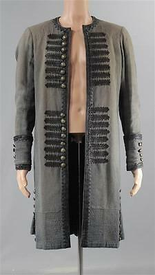 Black Sails John Silver Luke Arnold Screen Worn Pirate Coat Ss 4
