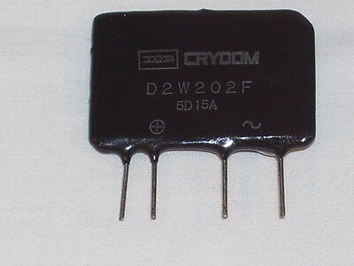Crydom D2W202F Solid State Relay - 3-34VDC Ctrl, 24-280VAC Out @ 2A - New
