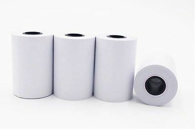 "6 Rolls 2-1/4"" x 50' VERIFONE VX520 Nurit 8000 Credit Card Thermal Paper FD100Ti"