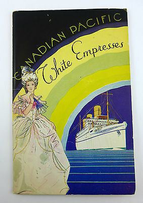 1935 Canadian Pacific Steamship Empress of Australia Booklet