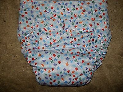 Dependeco All In One PUL adult baby diaper S/M/L/XL  (twinkle)