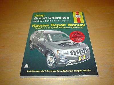 HAYNES JEEP GRAND CHEROKEE WK SRT8 LIMITED STATION WAGON Owners Handbook Manual