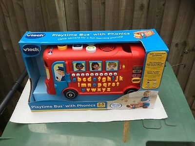 vtech Playtime Bus with Phonics- 2-5years