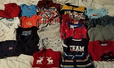 Lot of 18 - 24 month 2t boy baby clothes