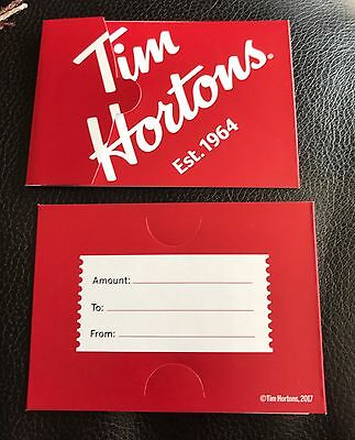 Tim Hortons Red Coffee Sleeve Est 1964 New Just Released Qty 2 Us