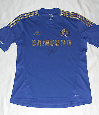 Chelsea Football Club Shirt Autographed By Frank Lampard with COA