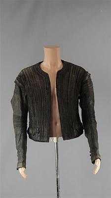 Black Sails Captain Ned Low Tadhg Murphy Screen Worn Pirate Jacket Ss 2