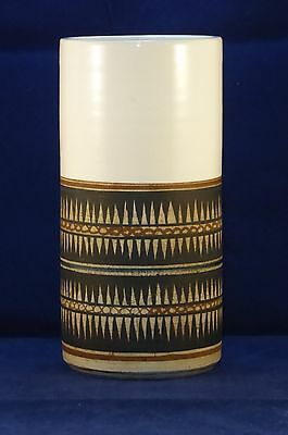 Superb Early Troika St. Ives Cylinder Vase - Marilyn Pascoe