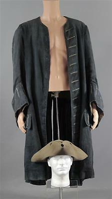 Black Sails Capt Hornigold Patrick Lyster Screen Worn Pirate Hat & Coat Ss 1 & 2
