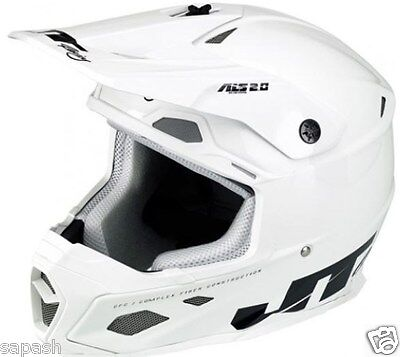 New 2016 JT Racing MX Helmet SM, MD, LG or XL ALS2.0 Motocross motorcycle OH WH