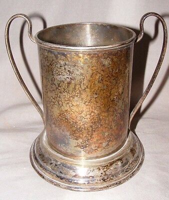 Vintage James Dixon & Sons Silver Plated Wine Champagne Cooler Bucket Handles