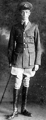 WW1 WWI Canadian officer in RFC / RAF - Royal Flying Corps pilot