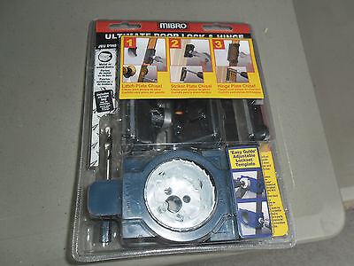 NEW Mibro Ultimate Door Lock & Hing Installation Kit, Never Used or Opened