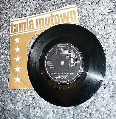UP THE LADDER TO THE ROOF by THE SUPREMES TAMLA MOTOWN VINYL SINGLE 1970