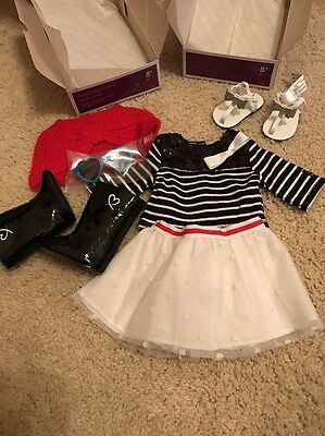 American Girl Grace Sightseeing Outfit And Accessories Set