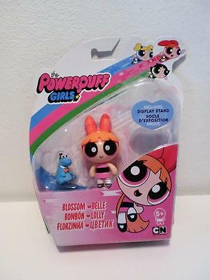 "New Rare Powerpuff Girls 3"" Tall Red Hair Blossom Toy Doll Mini Figure"