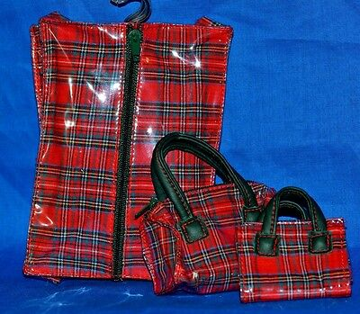 """Ginny Doll Luggage Lot of 3 Pieces """"Ginny's Trip Mates""""  No. 8AC09"""