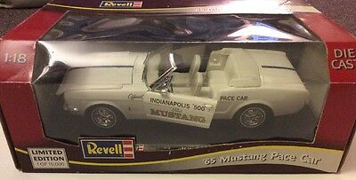 1965 Mustang Indy Pace Car Revell 1/18 Scale Diecast Limited Edition
