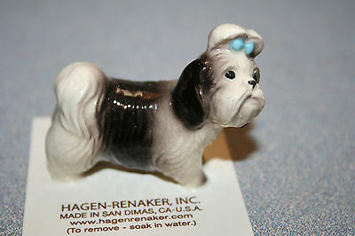 "Hagen Renaker Dog Shih Tzu ""Mandy"" Figurine Miniature New Free Shipping 02076"