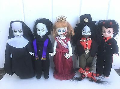 Living Dead Dolls Macumba Sapphire Prom Queen No Boxes Lot of 5
