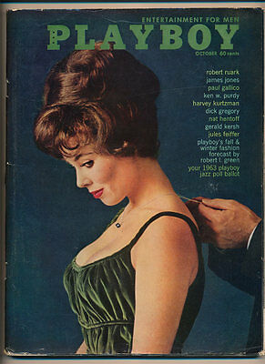 Playboy Magazine  October 1962  Peter Sellers Dick Gregory Jo Halpin Laura Young