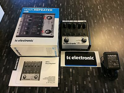 TC Electronic Nova Repeater Delay Guitar Effects Pedal / Stompbox RPT-1