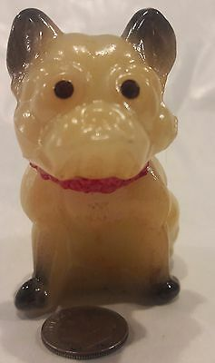 Westmoreland Mini HP NATURAL BLK TAN FRENCH BULLDOG Rhinestone EYES Free US Ship