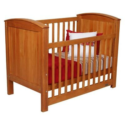 NEW Touchwood Meadow Panelled Cot in Brown