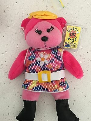 """Beanie Kids """"Groovy"""" the bear retired combined postage"""