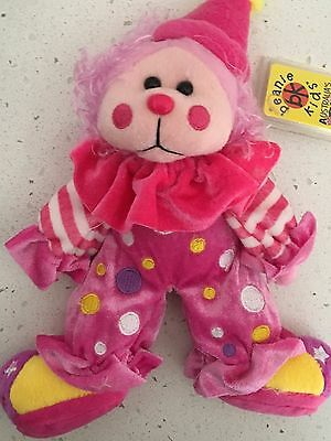 """Beanie kid """"Zany"""" the clown bear retired combined postage"""