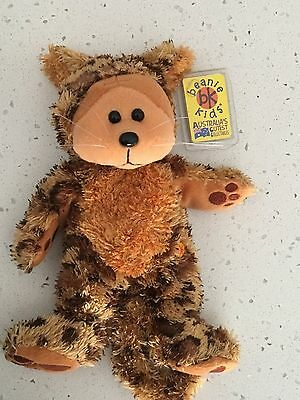 """Beanie Kid """"Pounce"""" the Jaguar bear retired combined postage"""