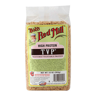 High Protein Tvp 283 Gm Bobs Red Mill Plents Of Range In Store