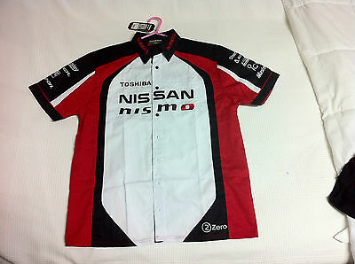 Nissan NISMO R35 GTR mens racing shirt size L 2015 Bathurst 24 Hour winner