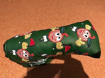 Scotty Cameron Masters 2015 Peaches & Pins Headcover rare NOOB
